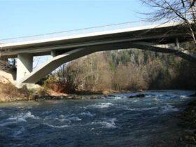 Most čez Savo pri Bledu