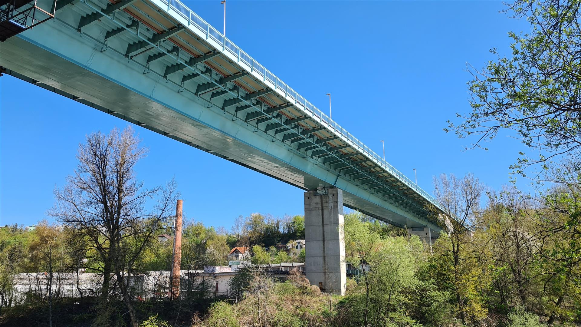 Most čez Savo v Kranju 1