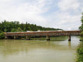 Most čez Savo v Smledniku